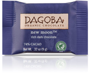 Dagoba Chocolate Tasting Square New Moon 74%