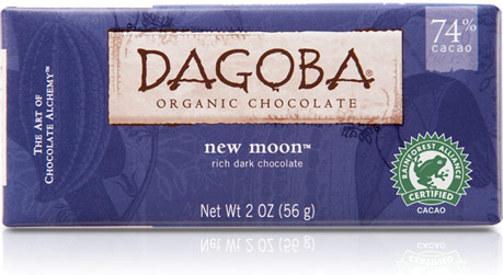Dagoba Chocolate Moon Dark Chocolate Bar