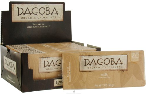 Dagoba Chocolate Milk Chocolate Bar 37%