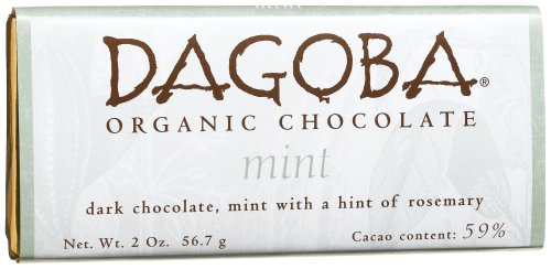 Dagoba Chocolate Mint Dark Chocolate Bar
