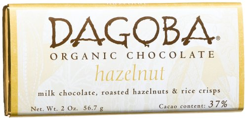 Dagoba Chocolate Hazelnut Milk Chocolate Bar